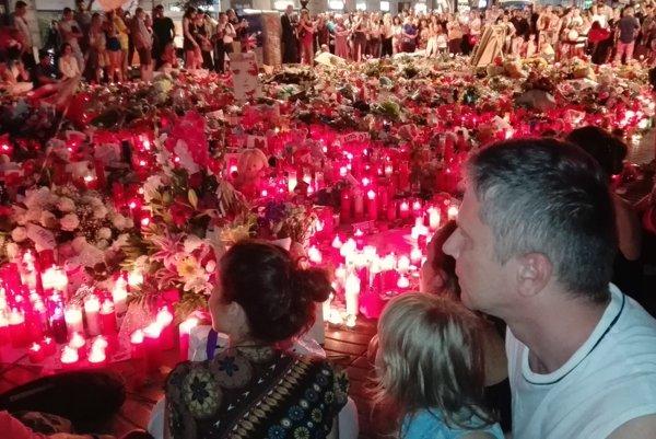 V Barcelone na miestach, kde zomierali nevinní.