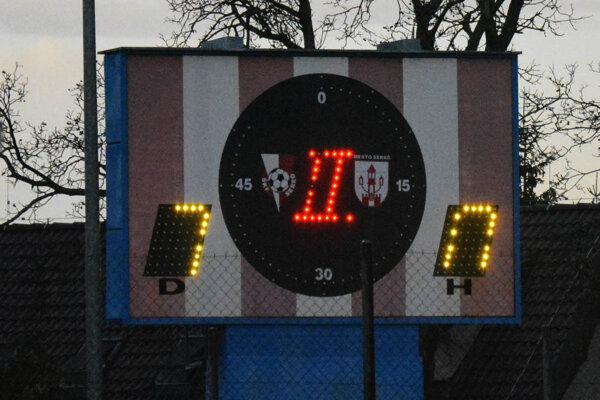 Ukazovateľ skóre v Seredi dávno takto nesvietil.