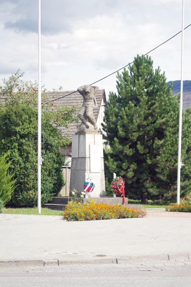 Pamätník obetiam vojny.