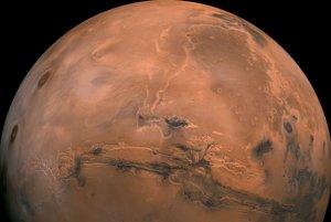 Planéta Mars.