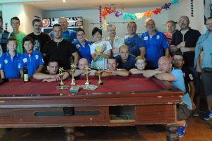 Účastníci piateho turnaja o Kľušovský pohár Prešovských novín.