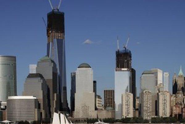 Nad New Yorkom sa už týči veža One World Trade Center, ktorú majú dokončiť v roku 2014.