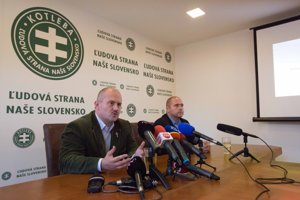 Marian Kotleba ohlásil kandidatúru.