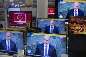 Dnes už televízie ovláda Putin.