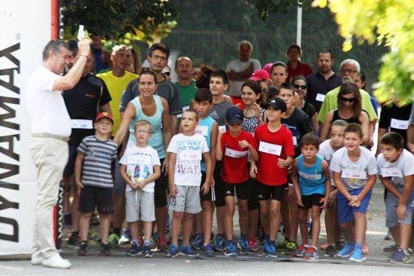 Ilustračné foto z bežeckých pretekov v Nitre.