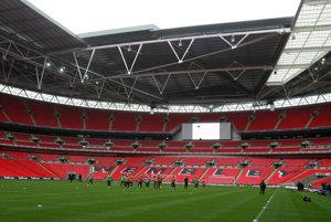 Štadión Wembley.