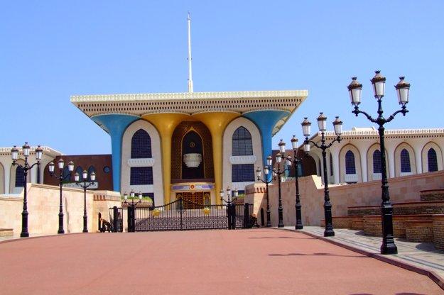 Muskat - sultánov palác.