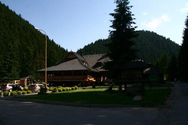 Čutkovská dolina pri Ružomberku.