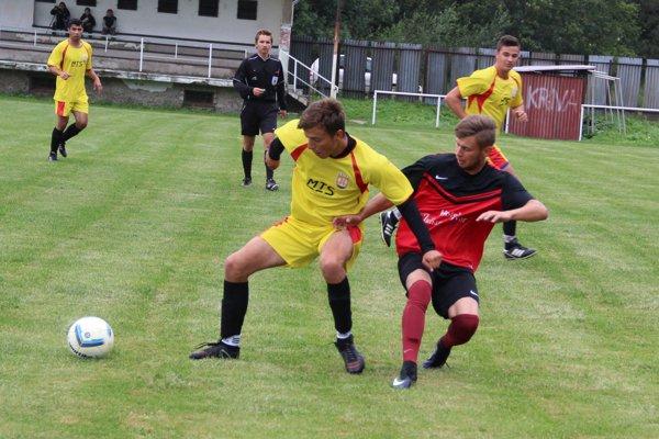 Krivá (v žltom) si zaknihovala prvú výhru v prebiehajúcej sezóne.
