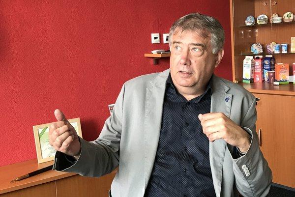 Generálny riaditeľ Tatranskej mliekarne Ľubomír Valčuha.