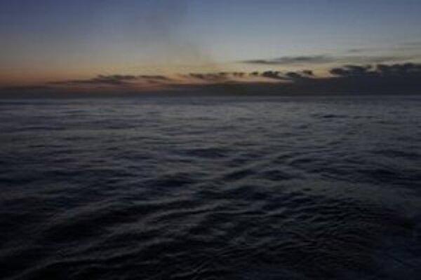 Pohľad na Atlantický oceán.
