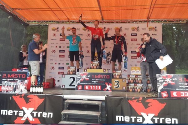Kristián Varga (2. miesto) po súťaži v Harrachove.