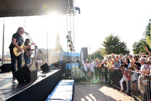 Vystúpenie skupiny Glaiator sa v Turanoch stretlo so záujmom.