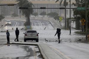 Florida čelila hurikánu Irma.