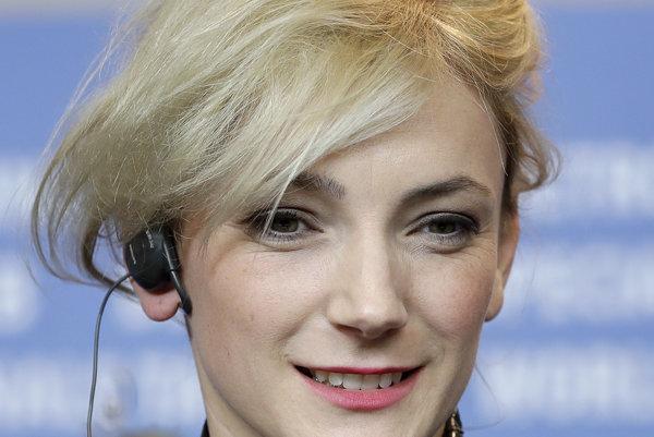 Herečka Alexandra Borbély, ktorá pochádza z Nitry, na festivale Berlinale.