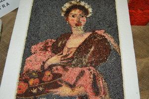 Takto vyzerá patrónka záhradkárov Sv. Dorota v podaní Kataríny Šebovej.