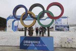 Olympijský park  v juhokórejskom Gang-nunge.