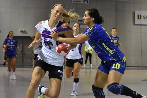 Marianna Rebičová (vpravo) strelila až 12 gólov.