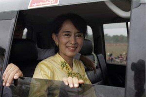 Tvár demokratických zmien v krajine Su-Ťij.