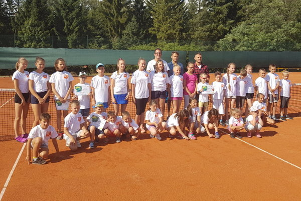 Prázdninová tenisová škola mala úspech.