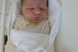 Vytúženým prvým dieťaťom Martiny a Milana Štefinovcov zo Sverepca je syn Milan (3340 g a 50 cm), ktorý prišiel na svet 13. septembra.