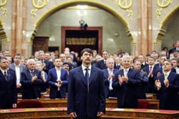 Nový prezident Maďarska János Áder.
