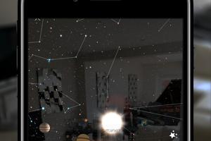 Night Sky na iPhone.