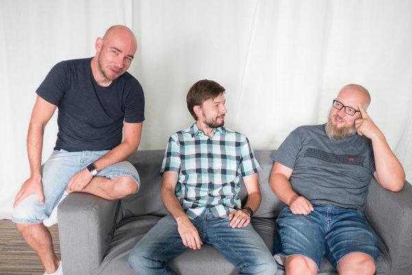 Jozef Šimko, Daniel Novák a Martin Adámek