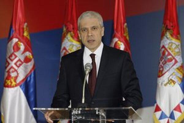 Prezident Boris Tadič vyhlasuje konanie volieb.