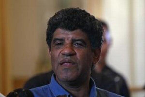 Abdalláh Sanúsí na archívnej snímke z augusta 2011.