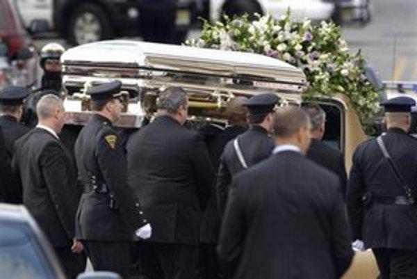 Pohreb Whitney Houston.