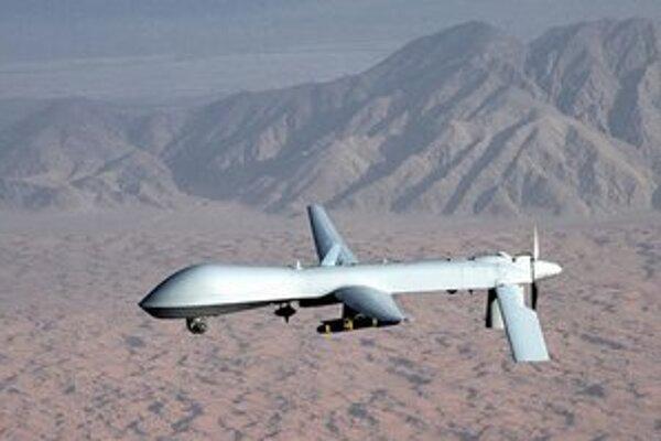 Bezpilotné lietadlo typu Predator.