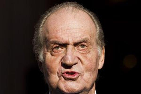 Španielsky kráľ Juan Carlos.