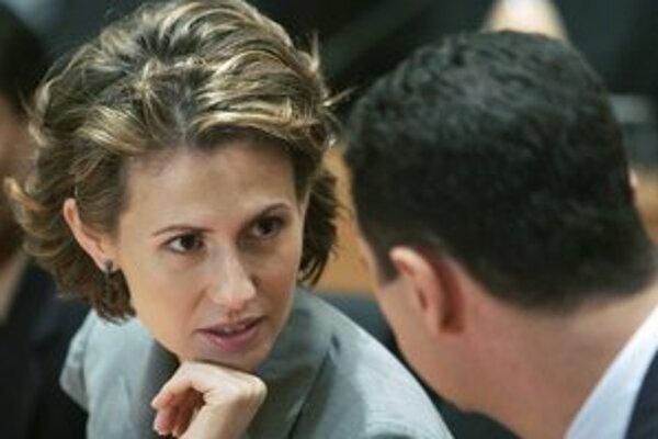 Asma Asadová.