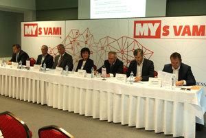 Diskusné fórum MY s VAMI na tému Budúcnosť dopravy v Banskobystrickom kraji.