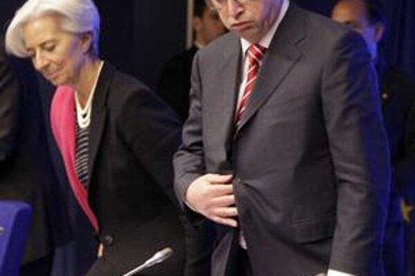 Juncker hovorí, že zažil ako šéf euroskupiny veľa sklamaní, no odchádza preto, že nestíha dve funkcie naraz.