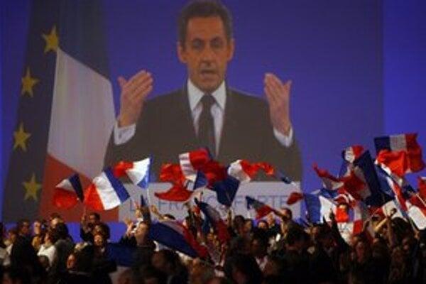 Slová Nicolasa Sarkozyho sú súčasťou predvolebnej kampane.