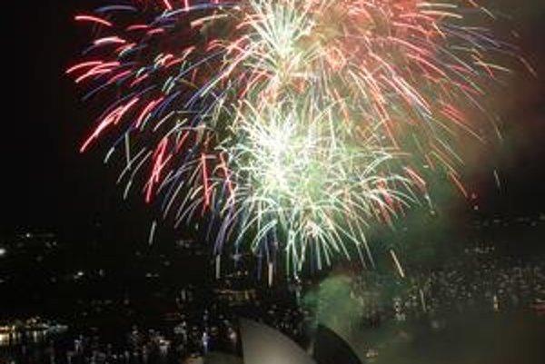 Austrália vítala rok 2012 medzi prvými.