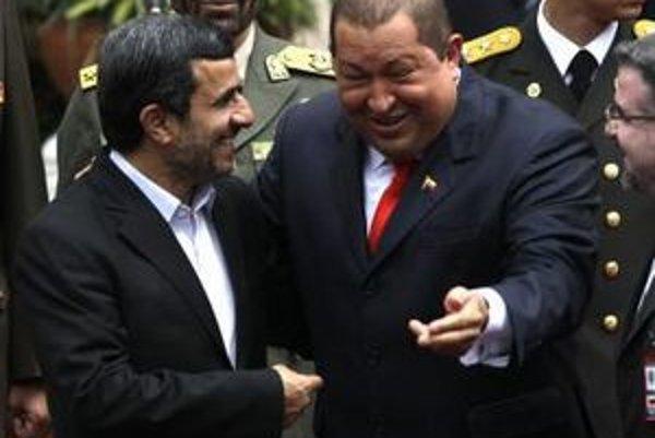 Lídri Iránu a Venezuely si zavtipkovali.