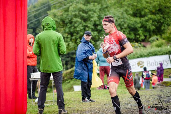 Lukáš Haviarik počas pretekov.