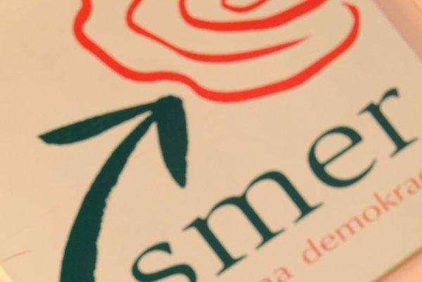 Logo strany Smer-SD.