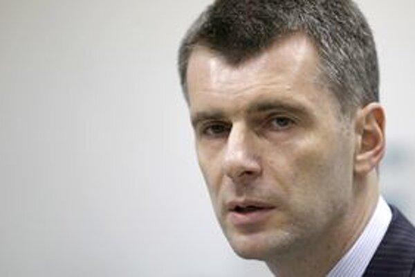 Michail Prochorov poprel tvrdenia, že jeho kandidatúru odobril Kremeľ.