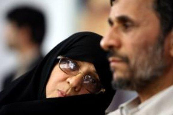 Sestra iránskeho prezidenta Mahmúda Ahmadínedžáda.