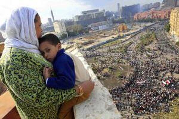 Veľké protesty na Tahríre sa začail pred rokom.