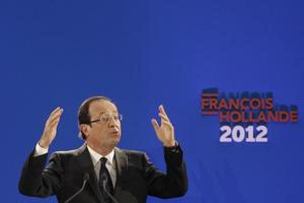 Francois Hollande, kandidát francúzskych socialistov na prezidenta.