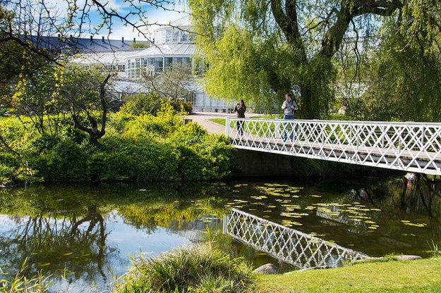 Kodaň je príjemným zeleným mestom.