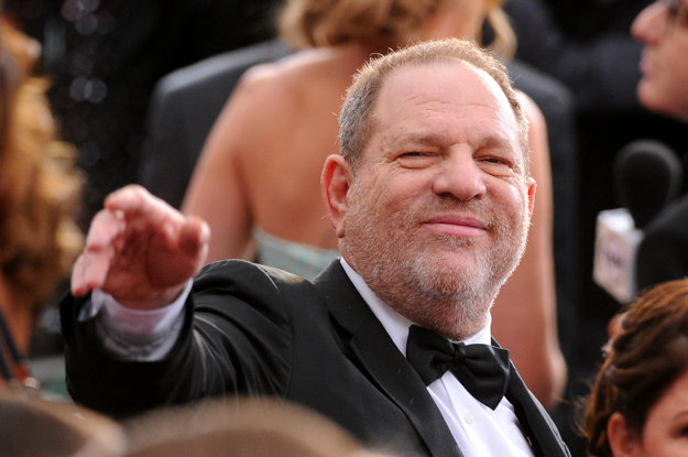 Hollywoodsky producent Harvey Weinstein.