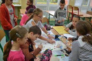 Európsky  deň jazykov v ZŠ Vajanského v Skalici.