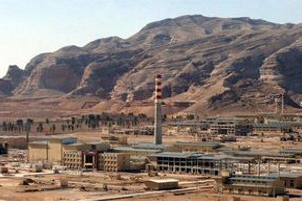 Jadrový komplex neďaleko Isfahánu.