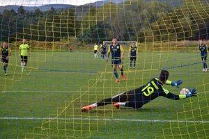 Premenenou penaltou Michal Gere už len korigoval stav na 2:3.